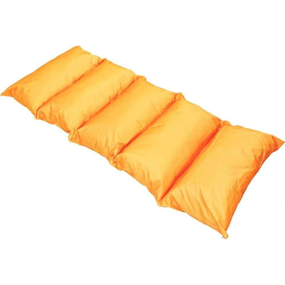 Matelas d'appoint 5 coussins orange