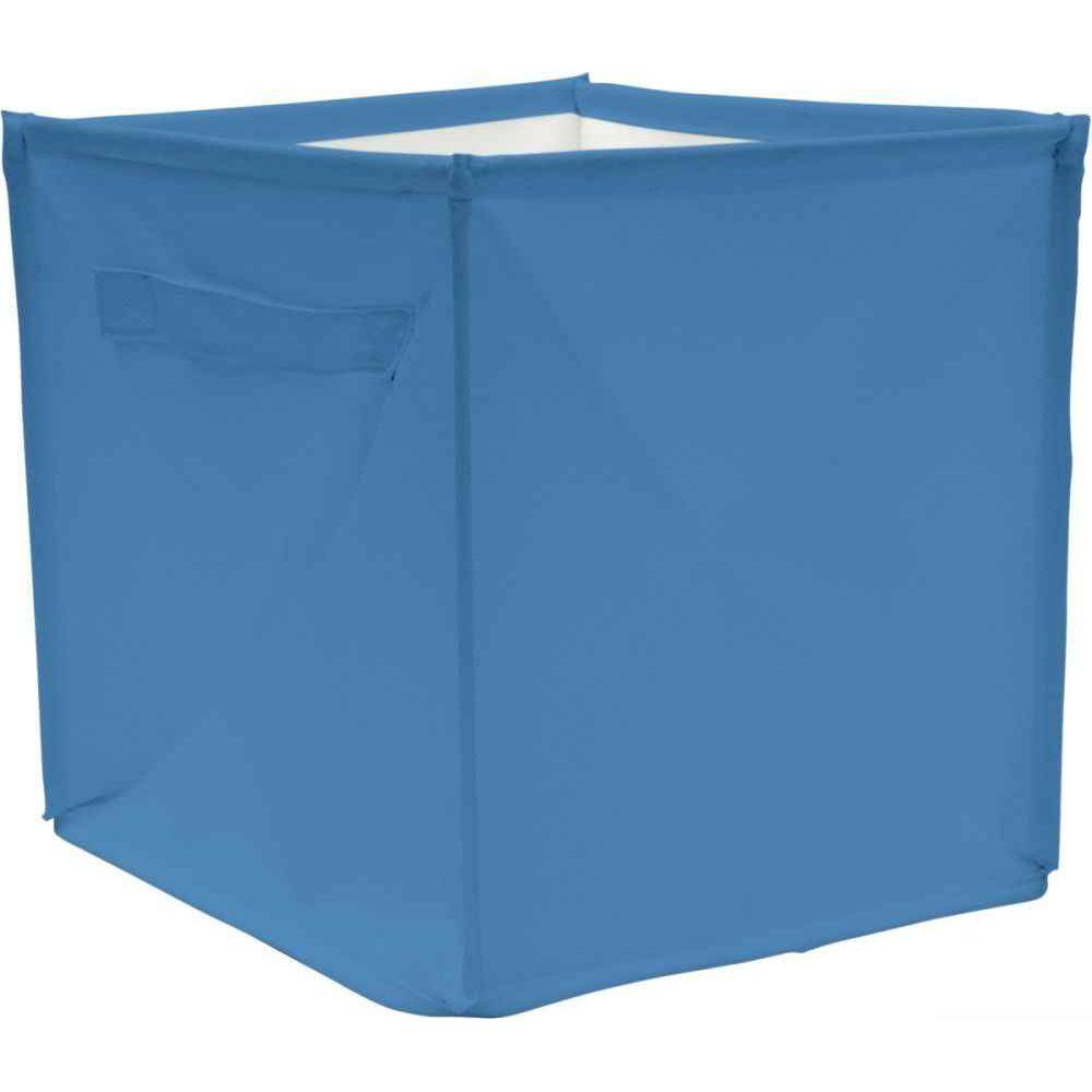 Cube de rangement 28x28x28 cm Bleu