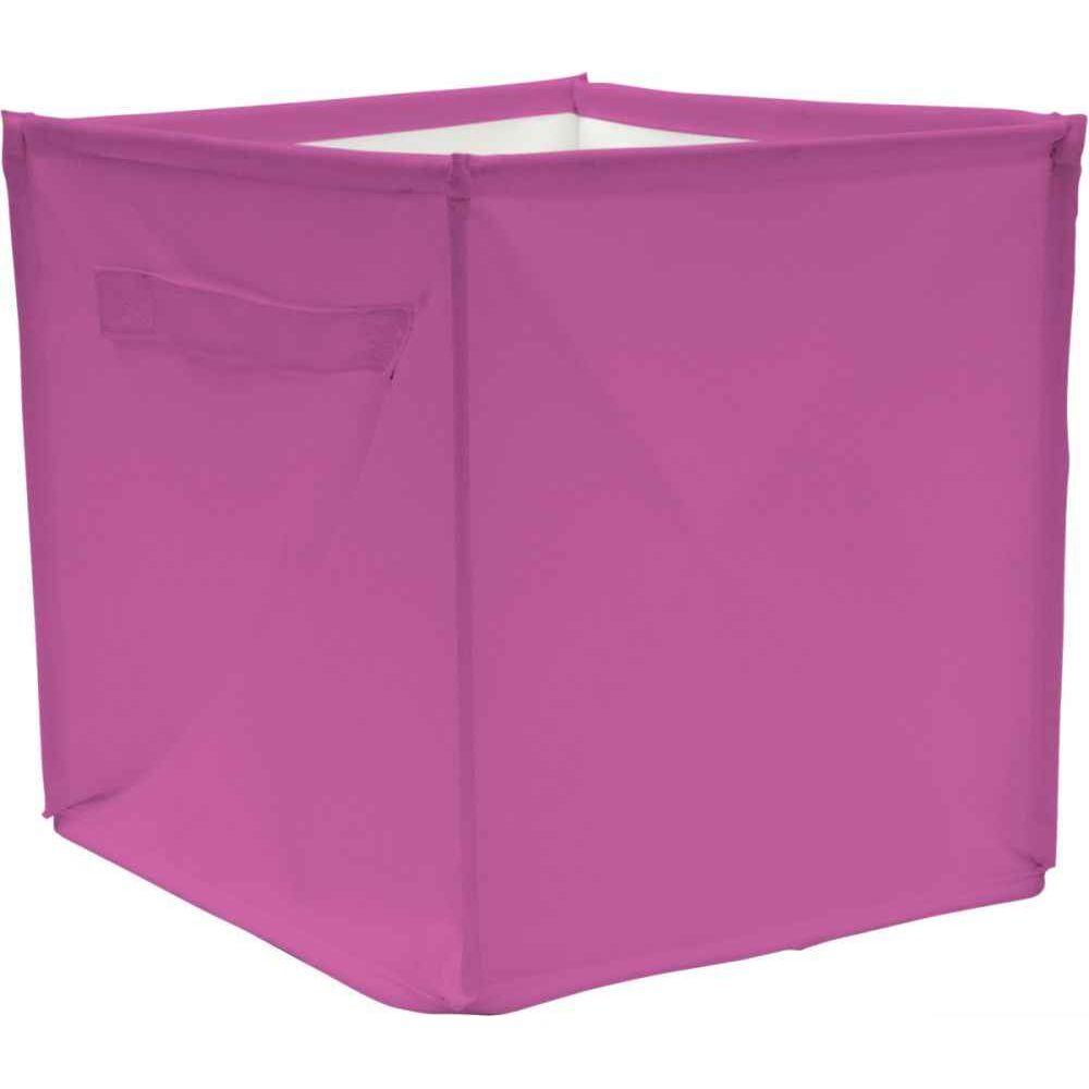 Cube de rangement 28x28x28 cm Fuschia