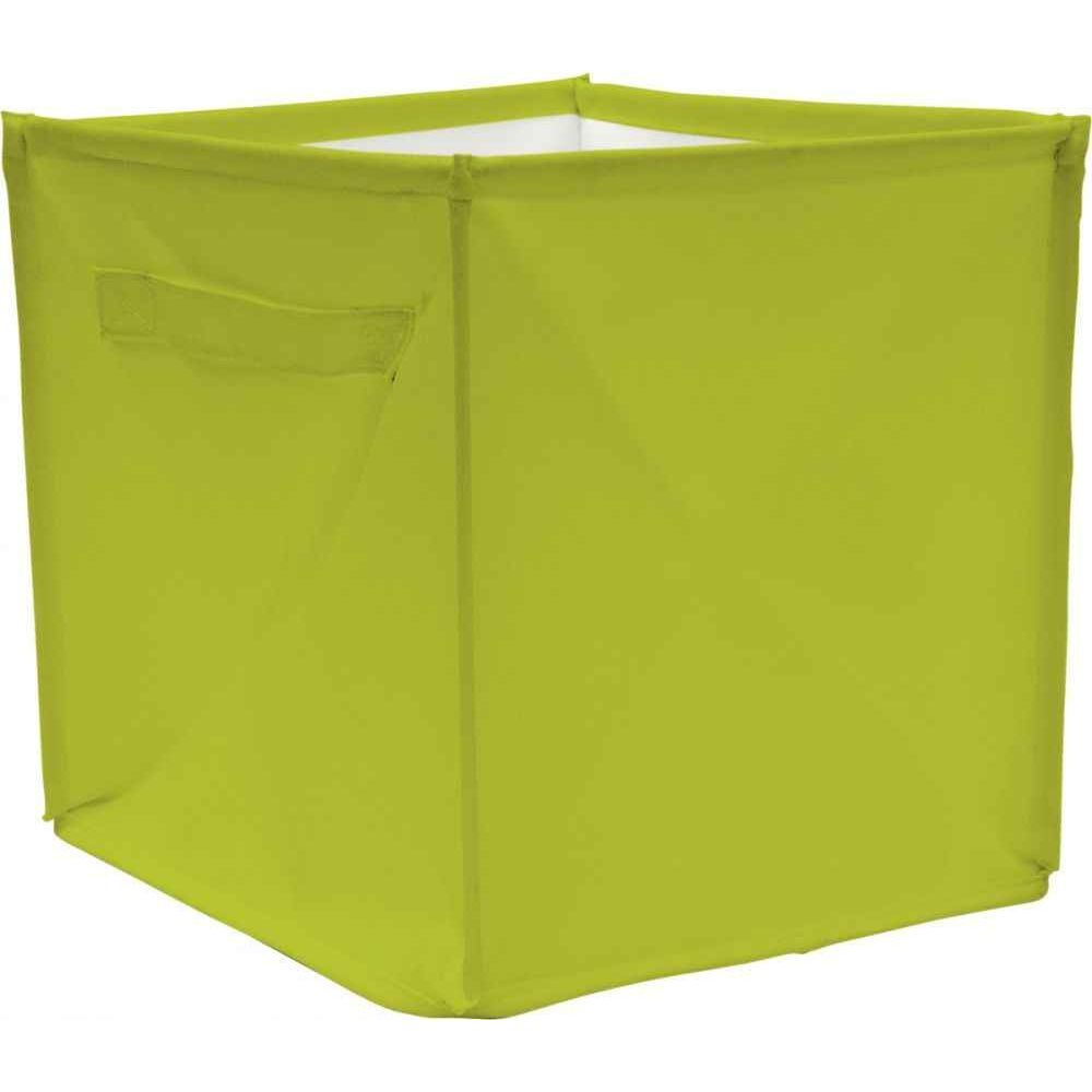 cube de rangement 28x28x28 cm vert house of kids cloisons sur planet eveil. Black Bedroom Furniture Sets. Home Design Ideas