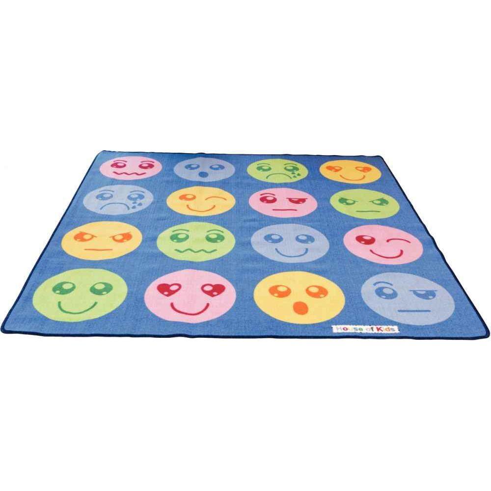 Tapis De Motricité Pas Cher tapis de regroupement 200x200 cm les humeurs - house of kids