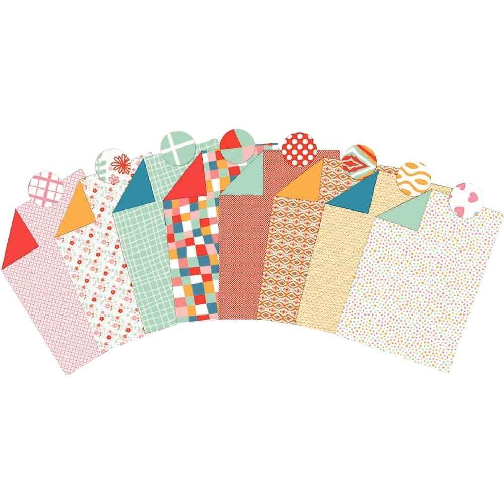 Feuilles carton décoration assorties 25 x 35 cm - Paquet de 40