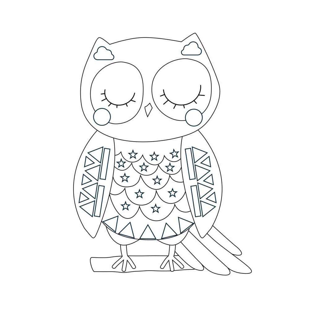 Formes animaux à colorier et à sticker à l'aide des gommettes géométriques - Pochette