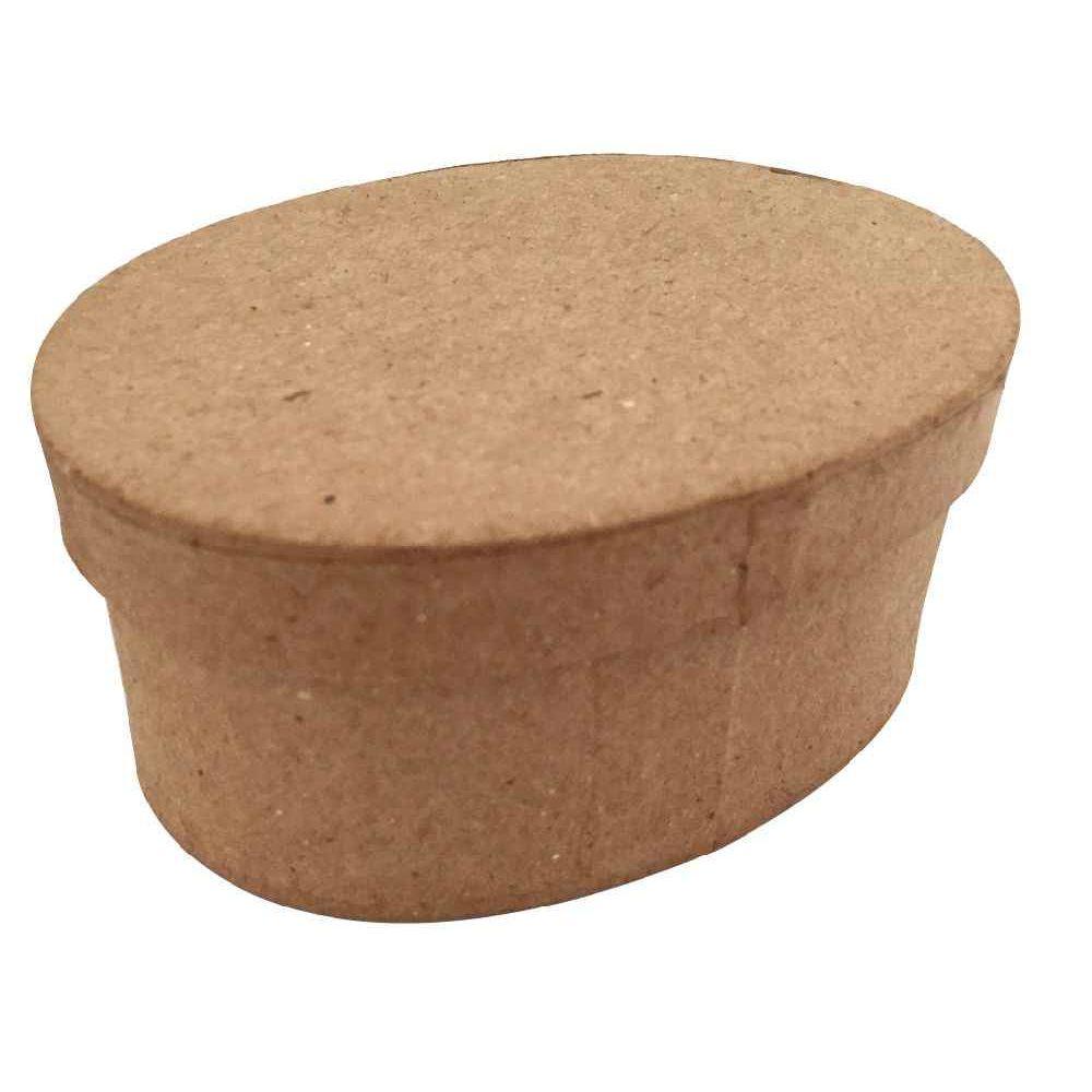 Bo tes ovales en carton d corer lot de 10 la fourmi - Boite carton a decorer ...