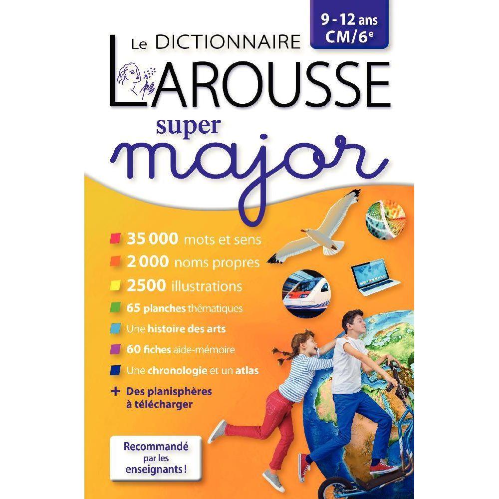Dictionnaire 'Larousse Super major du CM1 à la 6ème'