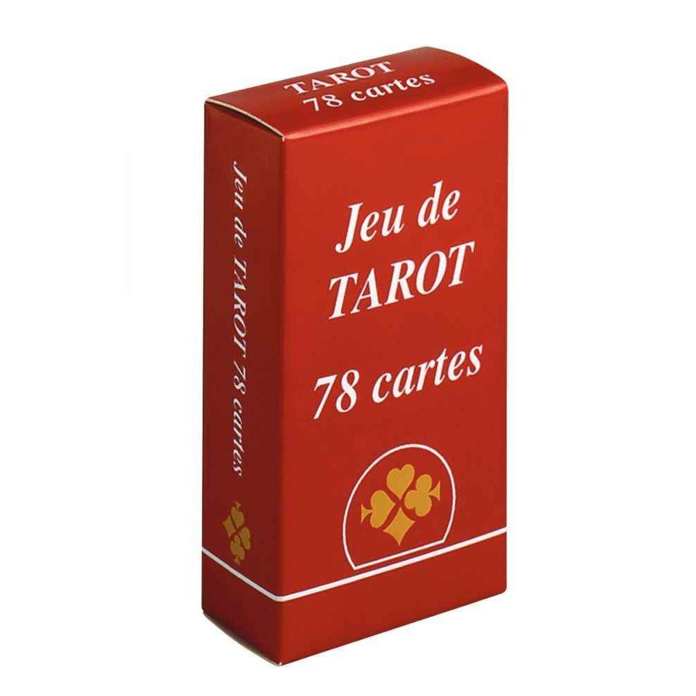 Jeu de tarot sous boite en carton