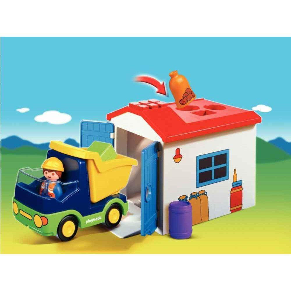 Camion + garage