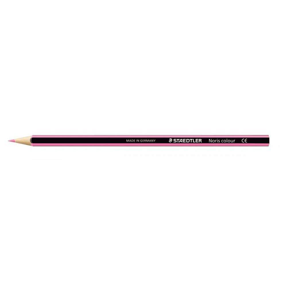 Crayons de couleur NORIS Colour rose - Boite de 12