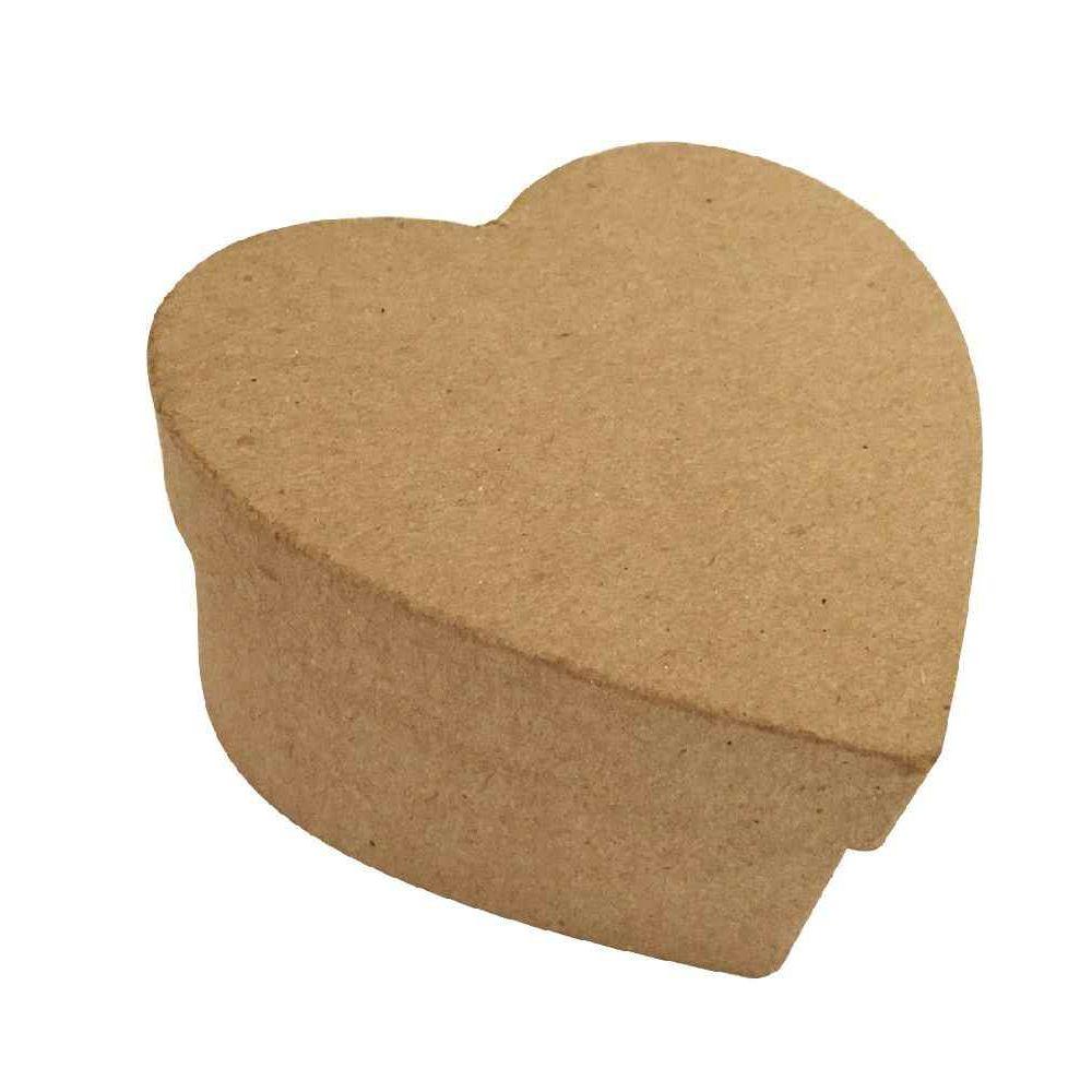 bo tes coeur en carton lot de 10 la fourmi objets en carton sur planet eveil. Black Bedroom Furniture Sets. Home Design Ideas