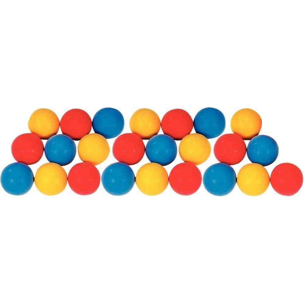 Balle en mousse diamètre 9 cm assortis - Sachet de 20