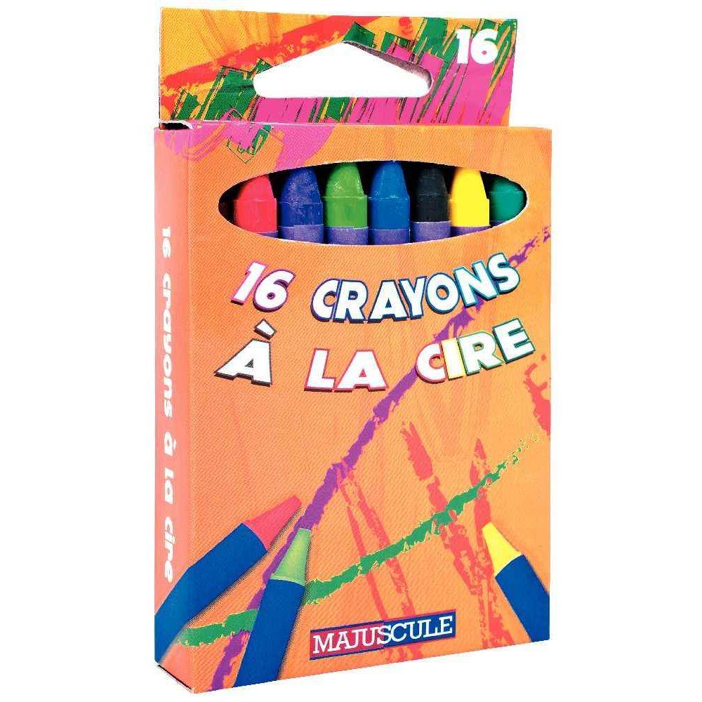 crayons la cire bo te de 16 generic craies pastels sur planet eveil. Black Bedroom Furniture Sets. Home Design Ideas
