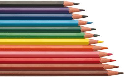 crayons de couleur evolution lot de 12 pochettes de 12. Black Bedroom Furniture Sets. Home Design Ideas