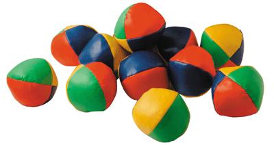 Balles à grain pour jonglage - Lot de 12