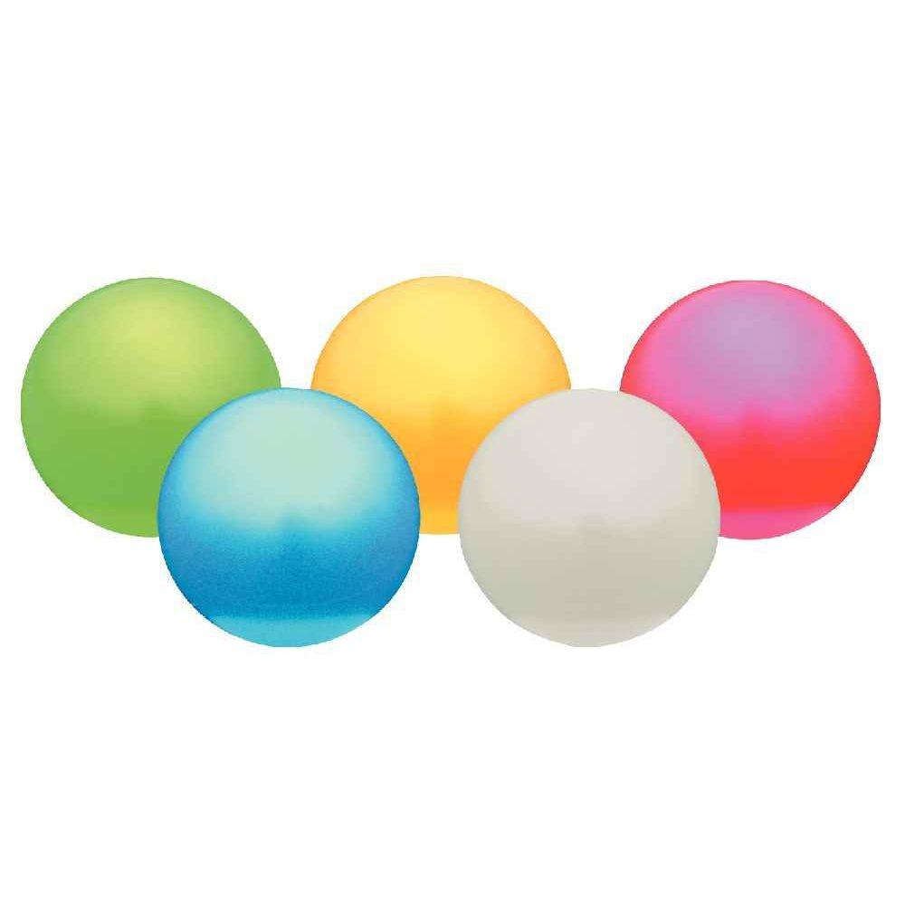 Ballons d'éveil 12 cm pastel - Lot de 5