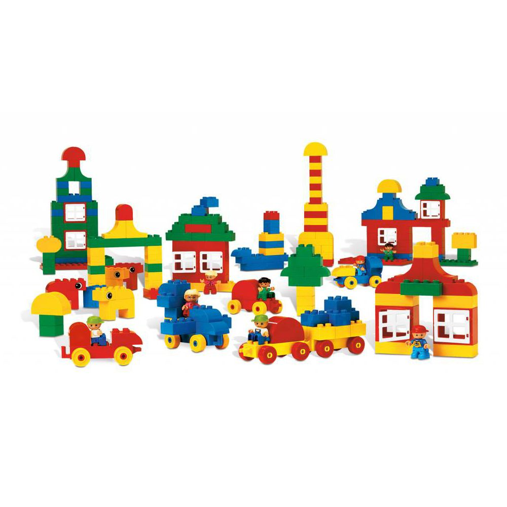 la ville duplo 215 pi ces lego duplo jeux de construction sur planet eveil. Black Bedroom Furniture Sets. Home Design Ideas
