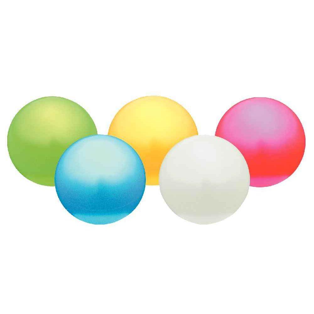 Ballons d'éveil pastel - Diamètre 18 cm - Lot de 5