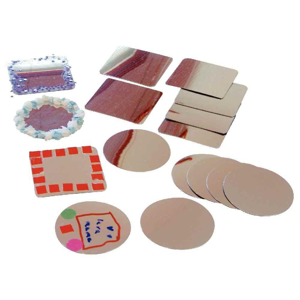Miroir plastique incassable lot de 16 objets divers for Miroir incassable