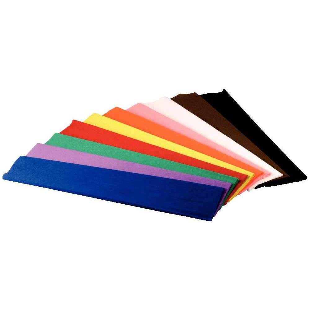 Papier cr pon ignifug paquet de 10 feuilles maildor papier cr pon sur planet eveil - Activite avec papier crepon ...