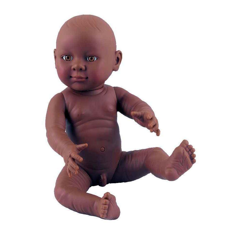 Poupon garçon africain - 41 cm