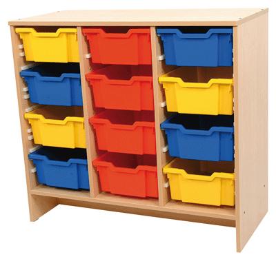 Meuble de rangement en bois pour mat riel en vrac - Meuble de rangement pour enfants ...