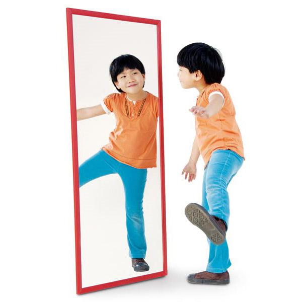 promotion Miroir 120x50 cm avec cadre en aluminium