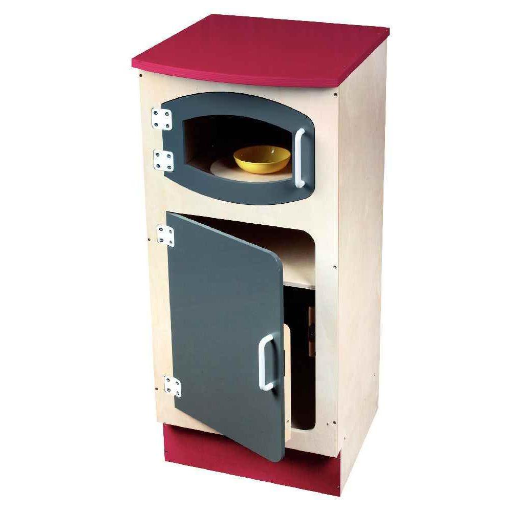 colonne frigo pour micro ondes en bois jb bois meubles de cuisine sur planet eveil. Black Bedroom Furniture Sets. Home Design Ideas