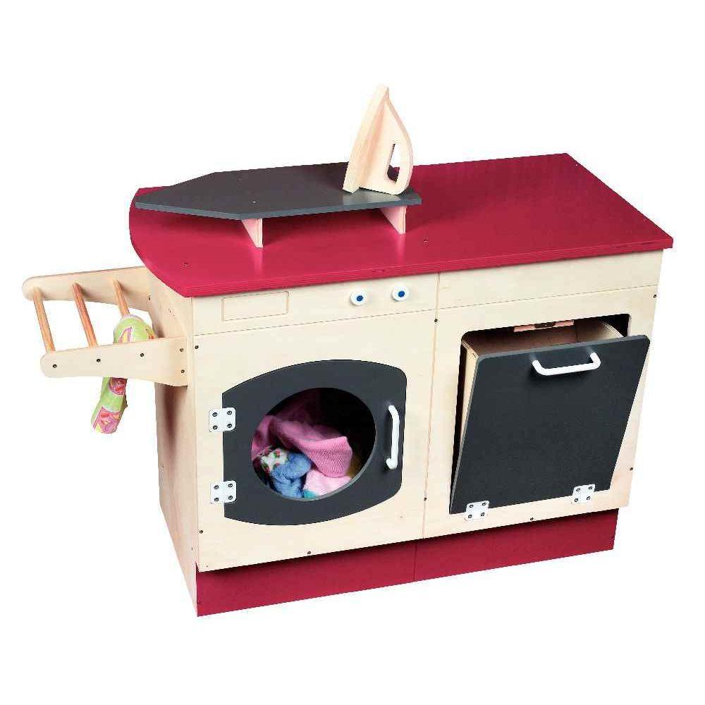 Meuble lingerie lave linge en bois jb bois meubles de for Meuble linge