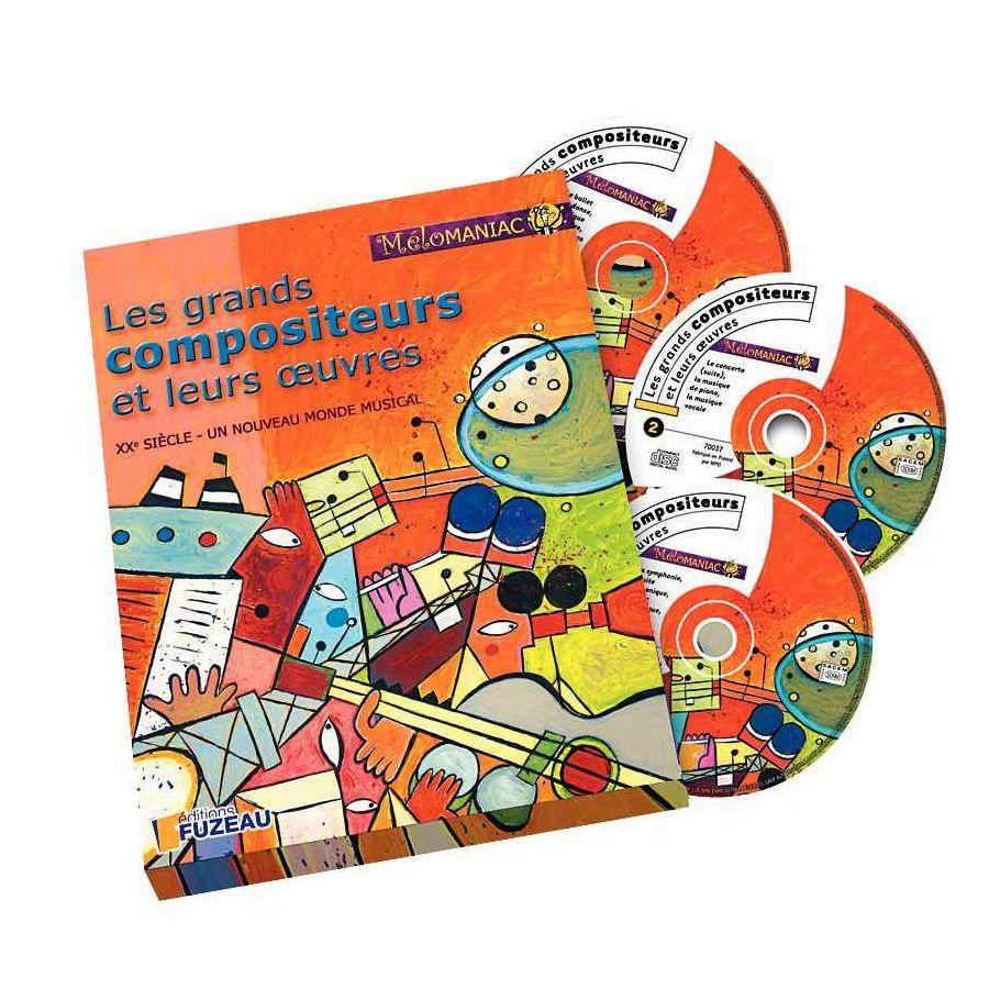 Coffret 'Les grands compositeurs et leurs oeuvres' - Volume 2