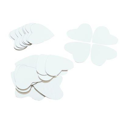 miroirs adh sifs forme de coeur sachet de 25 bouhon. Black Bedroom Furniture Sets. Home Design Ideas