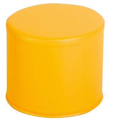 pouf rond jaune nowa szkola poufs sur planet eveil. Black Bedroom Furniture Sets. Home Design Ideas