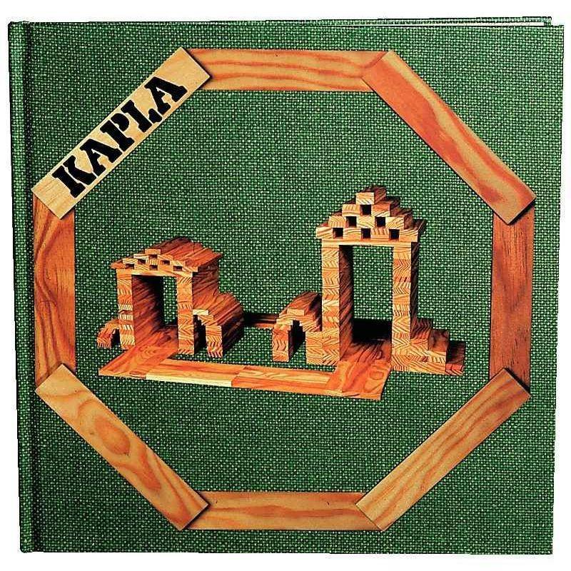 Manuel livre d'art Kapla - Tome 3 - Les architectures et structures faciles\