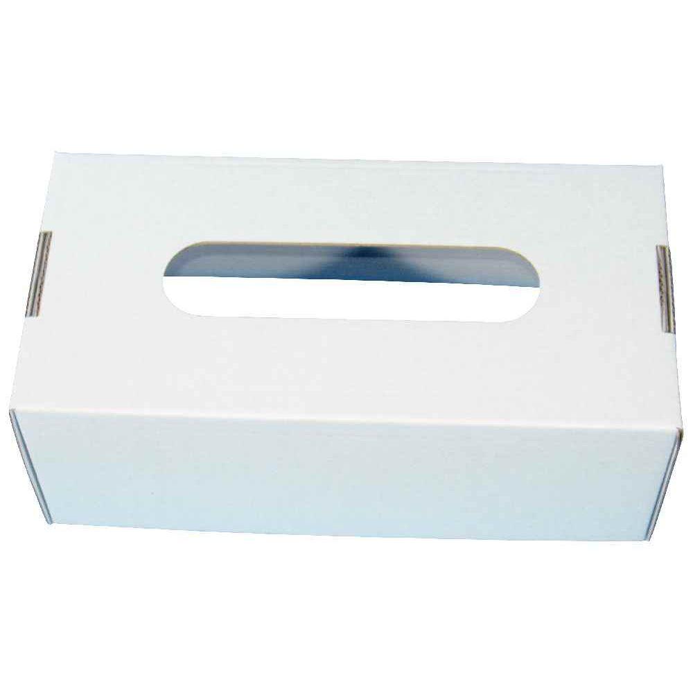 Bo te mouchoirs en carton blanc d corer lot de 10 gribouill 39 art - Boite en carton a decorer ...