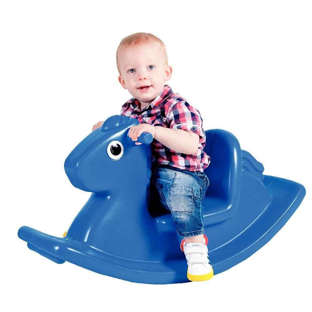 cheval bascule 1 an bleu little tikes jouets bascule sur planet eveil. Black Bedroom Furniture Sets. Home Design Ideas