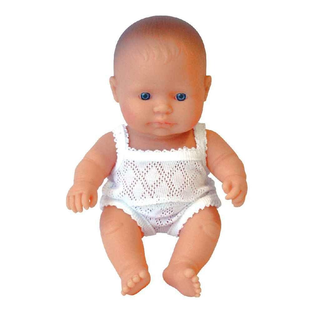 Poupée garçon européen - 21 cm