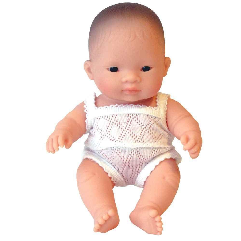 Poupée fille asiatique - 21 cm