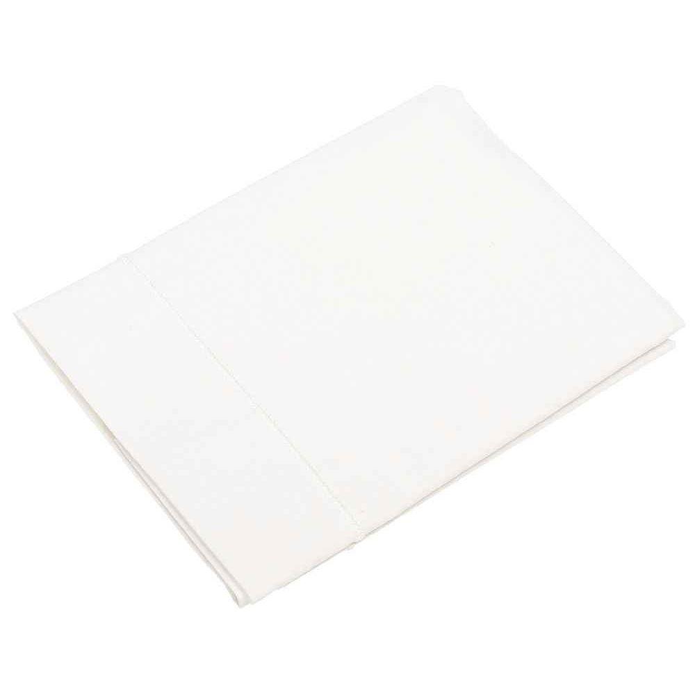 taie d 39 oreiller 60x40 cm blanc ses textiles sur planet eveil. Black Bedroom Furniture Sets. Home Design Ideas