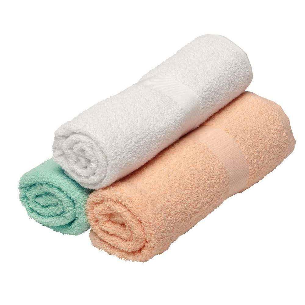 drap de bain en ponge unie 70x140 cm p che lot de 3 ses textiles sur planet eveil. Black Bedroom Furniture Sets. Home Design Ideas