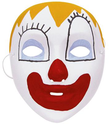 Pack masque halloween peinture masques d corer sur planet eveil - Masque a peinture ...