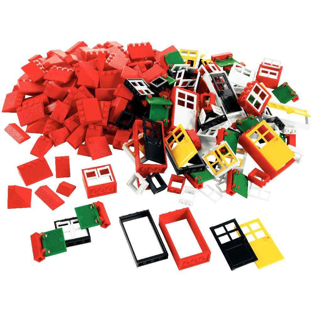 Portes fen tres ch ssis lego basic 278 pi ces lego for Fenetre lego