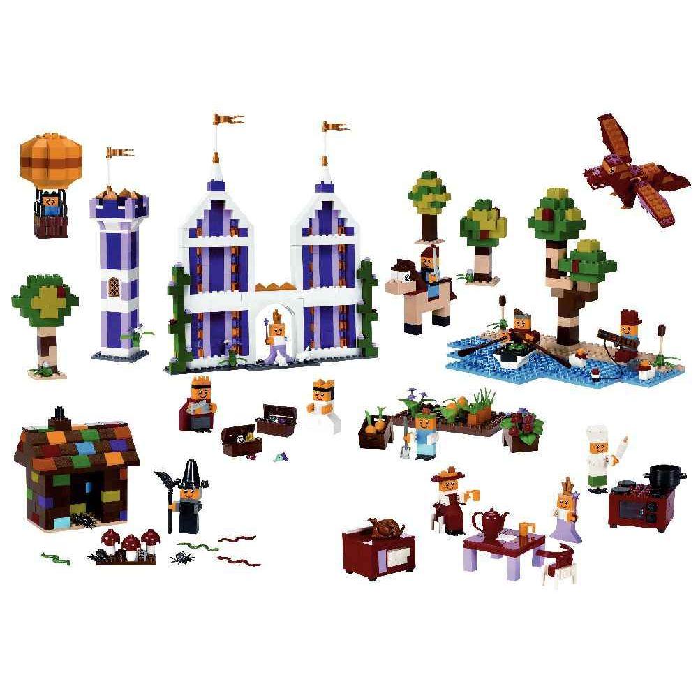 Briques LEGO supplémentaires - Carton de 1 207