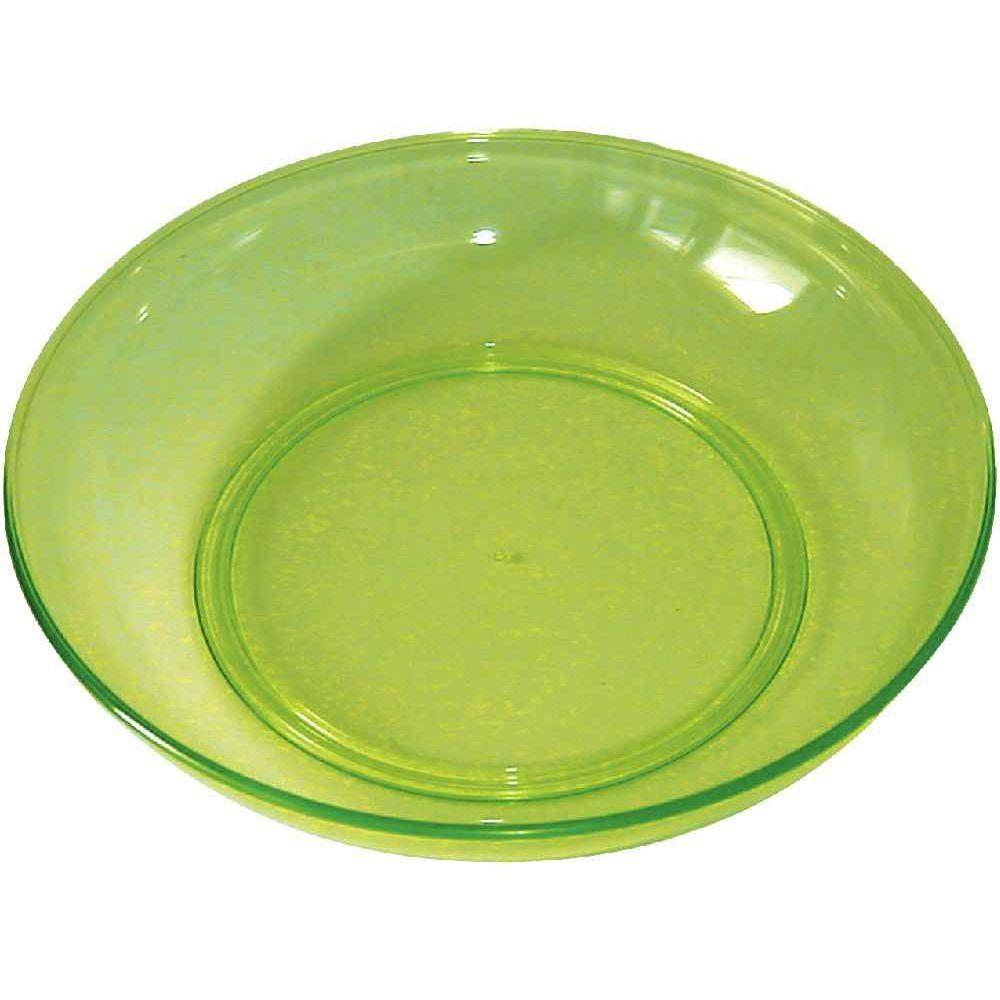 assiette creuse verte