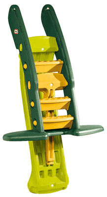 toboggan g ant vert pliable little tikes toboggans sur planet eveil. Black Bedroom Furniture Sets. Home Design Ideas