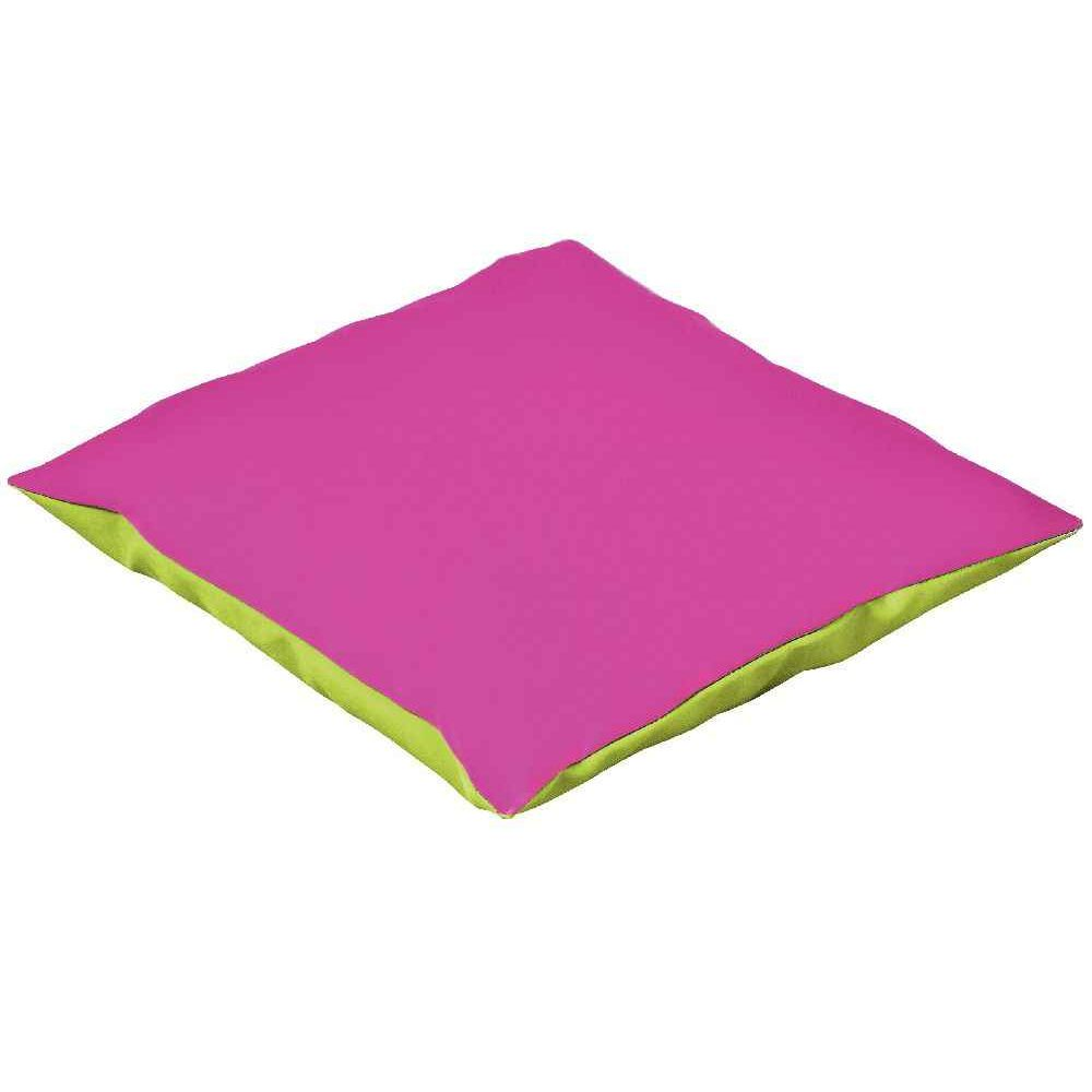 coussin 50 x 50 violet fuschia tapis coussins sur planet eveil. Black Bedroom Furniture Sets. Home Design Ideas