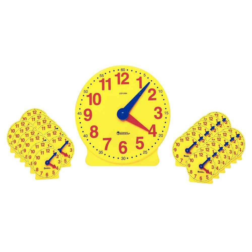 Horloges jaunes - Set de 25
