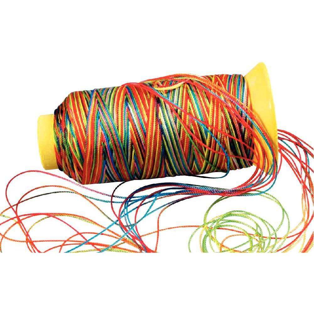 fil nylon multicolore bobine de 230m fils pour travaux