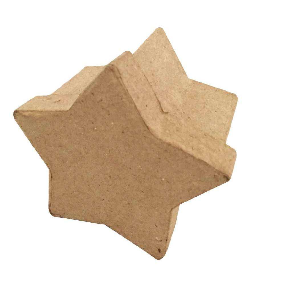 Boites en carton d corer en forme d 39 toile 8x8x5 cm for Boite carton a decorer