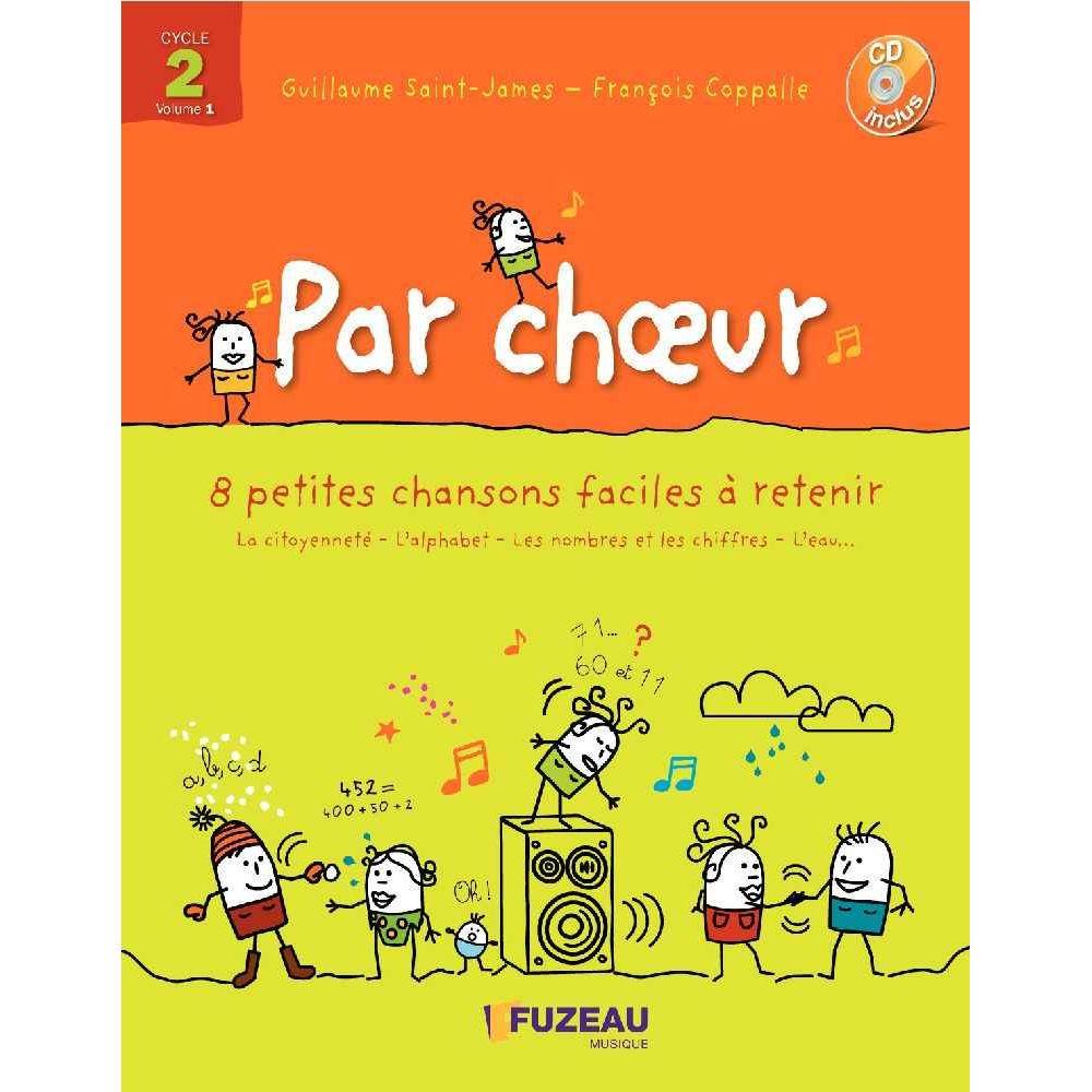 Par choeur - Cycle 2 - Livret + CD