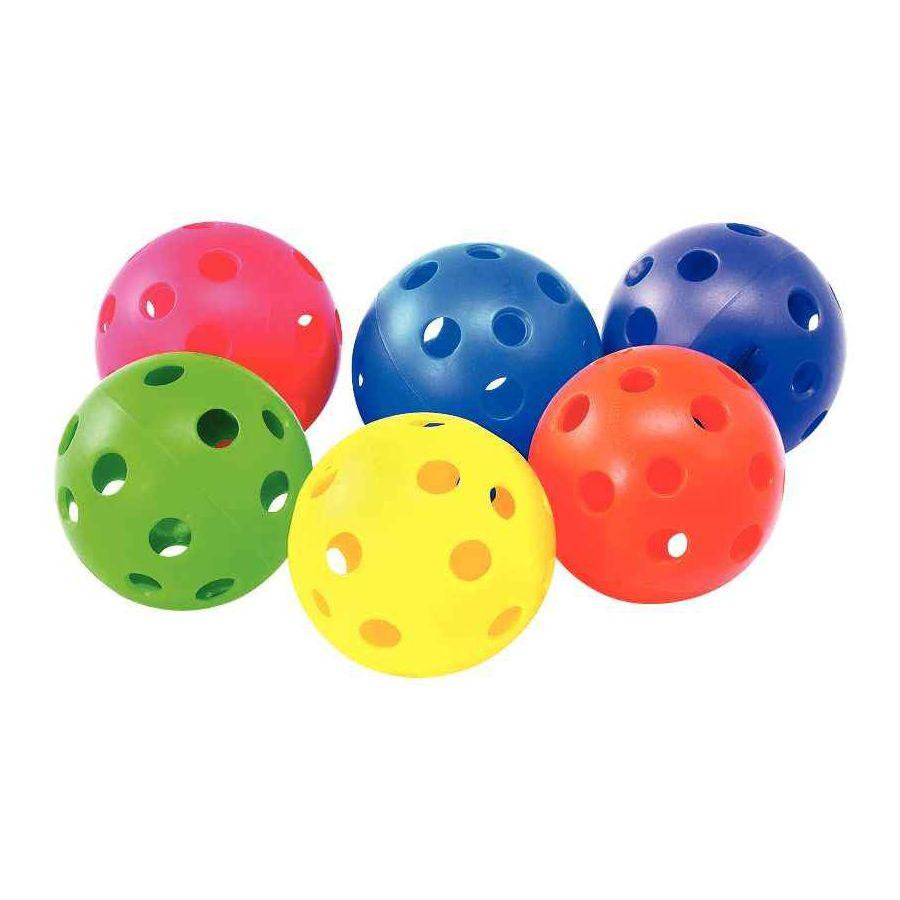 Balle à trous 7,2 cm - Lot de 6