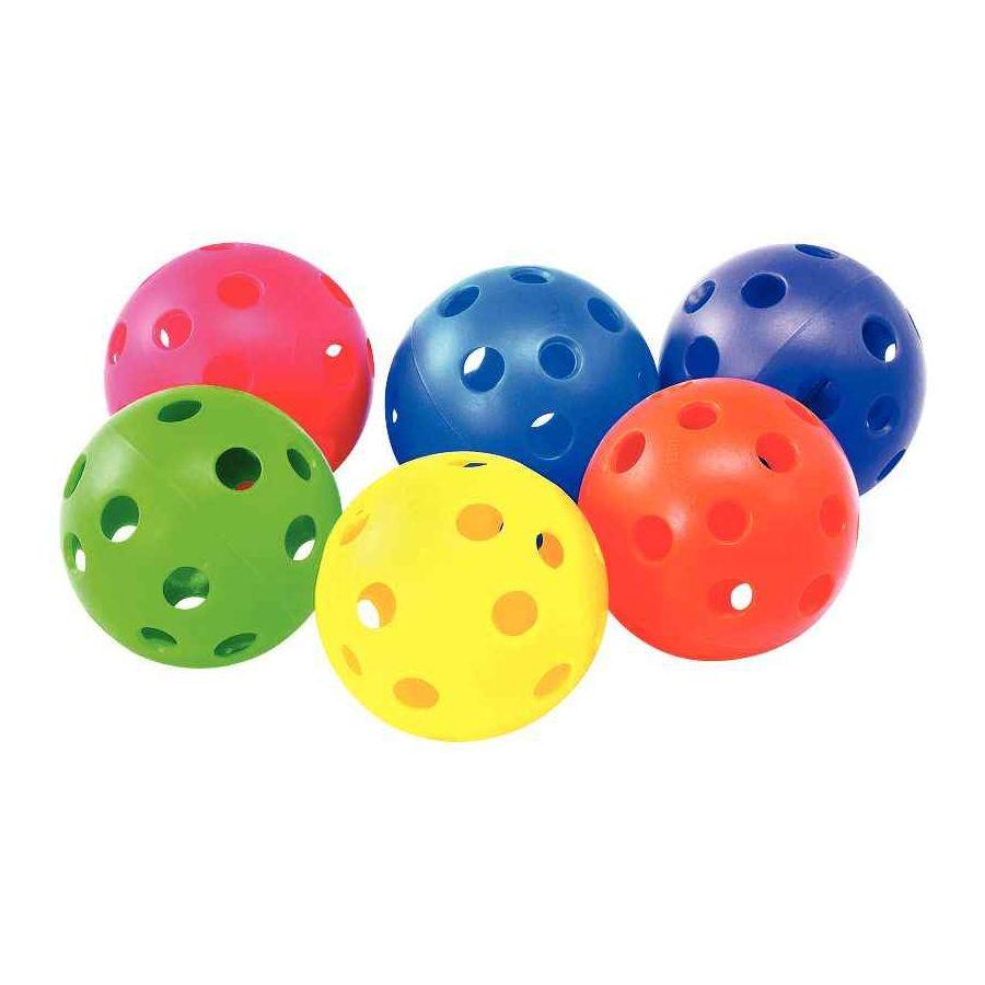 Balles à trous 9.2 cm - Lot de 6