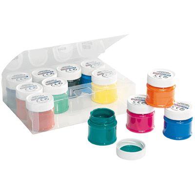 flacons 50 ml de vernis c ramique coffret de 12 generic peinture sur verre c ramique sur. Black Bedroom Furniture Sets. Home Design Ideas
